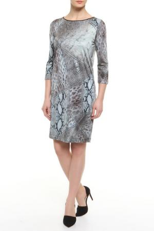 Платье CLASS ROBERTO CAVALLI. Цвет: коричневый