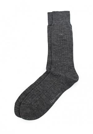 Комплект носков 2 пары Calvin Klein Underwear. Цвет: серый