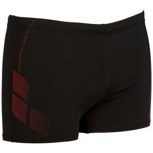 Плавки-боксеры ARENA. Цвет: черный/ красный
