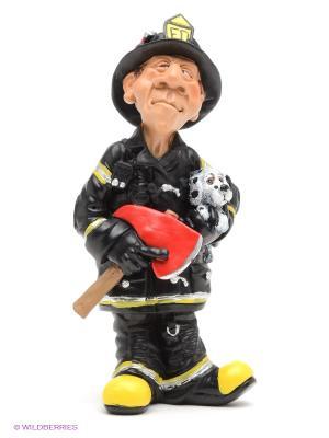 Фигурка Пожарный The Comical World of Stratford. Цвет: черный, красный, желтый