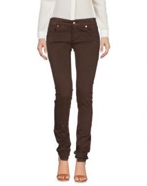 Повседневные брюки CESARE PACIOTTI 4US. Цвет: темно-коричневый