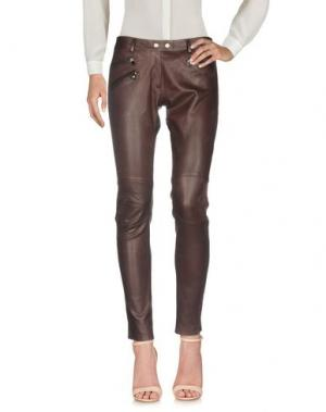 Повседневные брюки SYLVIE SCHIMMEL. Цвет: баклажанный
