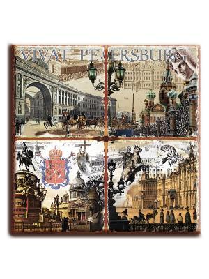 Керамическая подставка Gift'n'Home. Цвет: белый, черный, серый, коричневый, светло-коричневый, кремовый