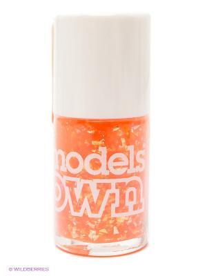 Лак для ногтей, Summer Sparkle Golden Shore  Models Own. Цвет: оранжевый