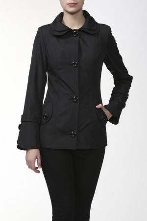 Пальто ALVAR. Цвет: черный