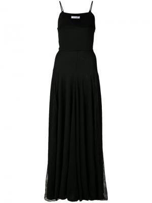 Платье Ryan Roche. Цвет: чёрный