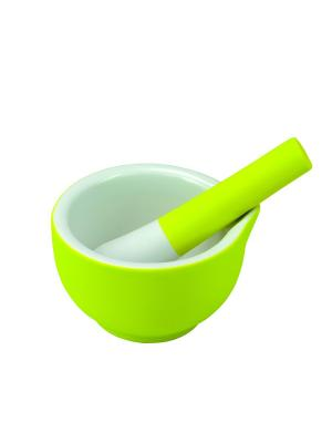 Ступка с пестиком Steady M Contento. Цвет: зеленый