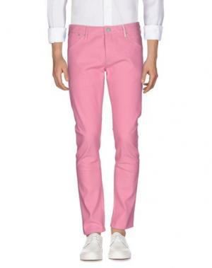 Джинсовые брюки SCOTCH & SODA. Цвет: розовый