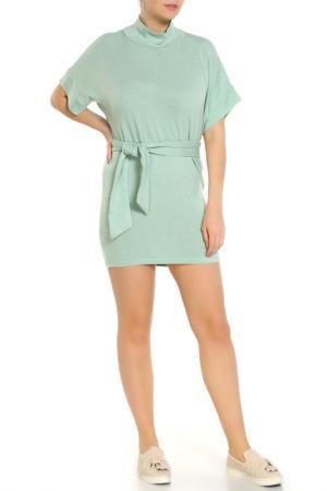 Платье с поясом Majaly. Цвет: мультицвет