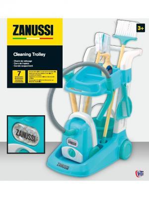 Набор для уборки Zanussi HTI. Цвет: морская волна, бирюзовый, светло-желтый