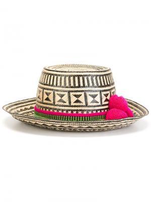 Шляпа Kerala Yosuzi. Цвет: телесный