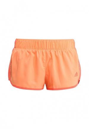 Шорты спортивные adidas Performance. Цвет: оранжевый