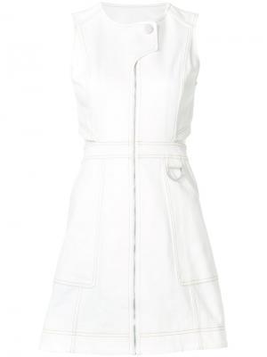 Платье Kate Misha Nonoo. Цвет: белый