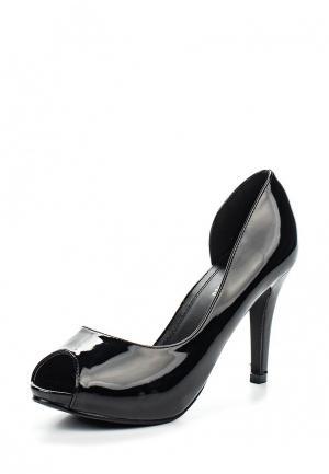 Туфли Style Shoes. Цвет: черный
