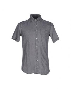 Pубашка MESSAGERIE. Цвет: серый