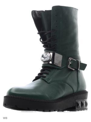 Ботинки Roccol. Цвет: темно-зеленый
