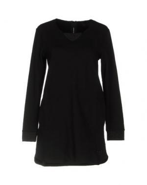 Короткое платье ATELIER FIXDESIGN. Цвет: черный