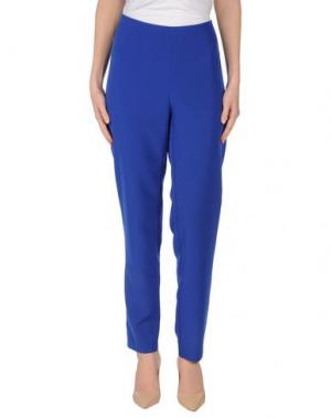 Повседневные брюки DANIELA DREI. Цвет: ярко-синий