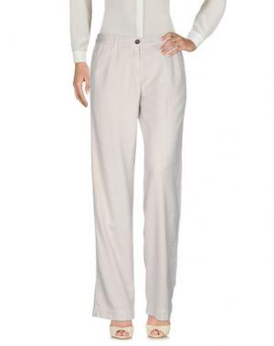 Повседневные брюки MASSIMO ALBA. Цвет: светло-серый