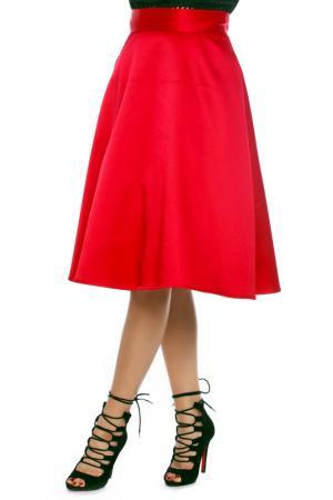 Юбка Emma Monti. Цвет: red
