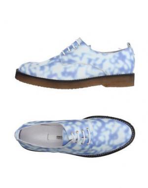 Обувь на шнурках MIISTA. Цвет: пастельно-синий