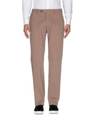 Повседневные брюки HARMONT&BLAINE. Цвет: голубиный серый