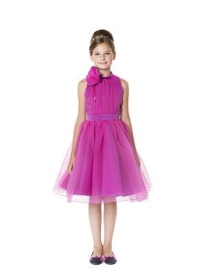 Платье Мадама. Цвет: фиолетовый