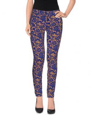 Повседневные брюки NIOI. Цвет: охра
