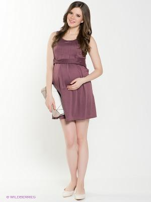 Сарафан для беременных 40 недель. Цвет: лиловый