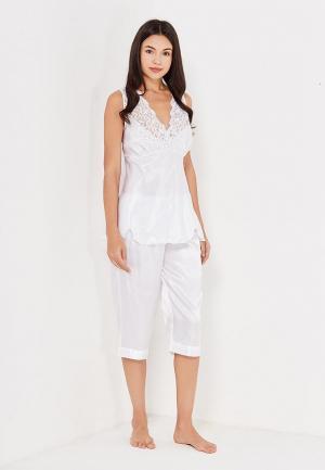 Пижама Belweiss. Цвет: белый