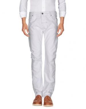 Повседневные брюки ZU+ELEMENTS. Цвет: белый