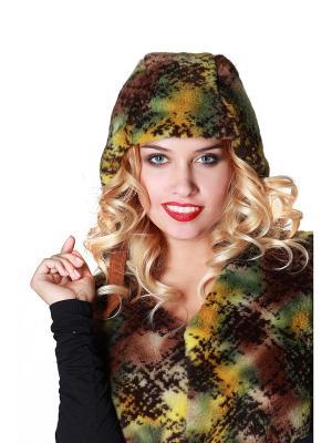 Шапочка Artwizard. Цвет: зеленый, коричневый