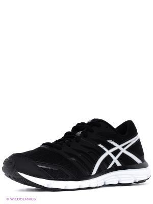 Беговые кроссовки Gel-Zaraca 4 ASICS. Цвет: черный, белый