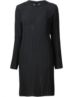 Платье шифт Yang Li. Цвет: чёрный