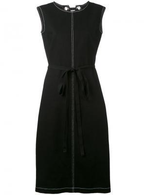 Платье А-образного кроя Ter Et Bantine. Цвет: чёрный