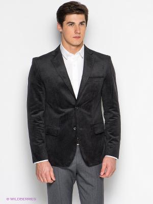 Пиджак BAZIONI. Цвет: темно-серый