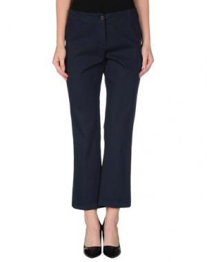 Повседневные брюки QL2 QUELLEDUE. Цвет: грифельно-синий