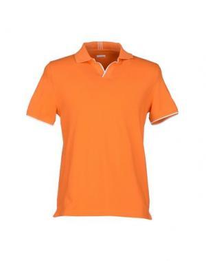 Поло HERITAGE. Цвет: оранжевый