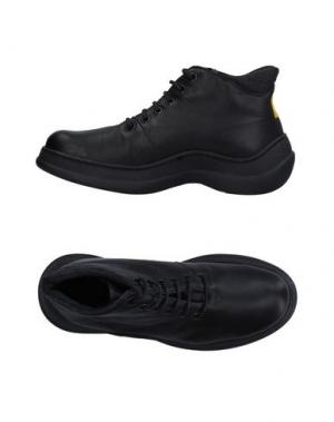 Высокие кеды и кроссовки MARITHÉ + FRANÇOIS GIRBAUD. Цвет: черный
