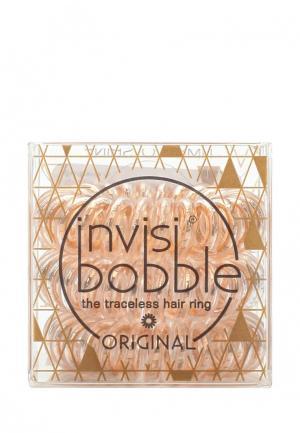 Комплект invisibobble. Цвет: бежевый
