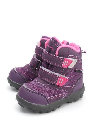 Ботинки Котофей. Цвет: фиолетовый