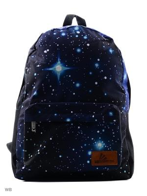 Рюкзак ПодЪполье. Цвет: голубой, фиолетовый, черный, синий