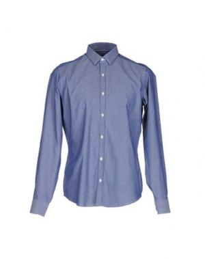 Pубашка MESSAGERIE. Цвет: темно-синий