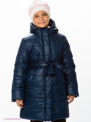 Пальто Bell bimbo. Цвет: темно-синий