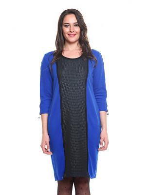Платье FRENCH HINT. Цвет: синий, черный