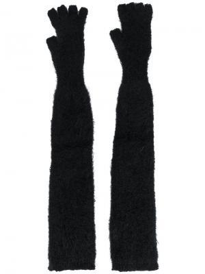 Длинные перчатки Lost & Found Ria Dunn. Цвет: чёрный