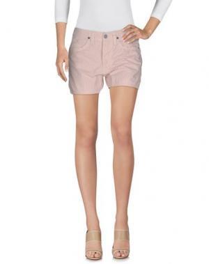 Повседневные шорты JAGGY. Цвет: светло-розовый