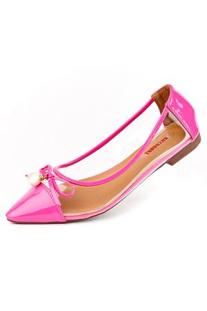 Балетки Riccorona. Цвет: розовый
