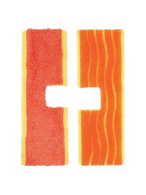 Сменные насадки для двусторонней швабры OXO 2 шт. Цвет: красный, коралловый