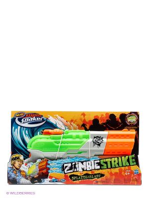 Супер Сокер Зомби Страйк СплаттерБласт Hasbro. Цвет: синий, зеленый, красный, оранжевый